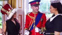 Giving a dick the royal treatment
