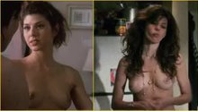 Marisa Tomei's tits almost 20 years apart