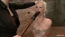 Tara Lynn Foxx is trained to be a deepthroat slave
