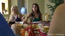 Ashley Fires and Jojo Kiss - Thanksgiving Fuckfeast