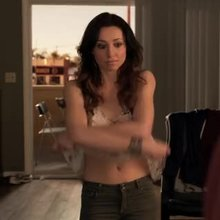 """Christy Williams undressing in """"Ray Donovan"""""""
