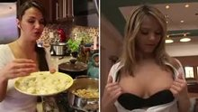 Ashlynn Brooke has a YouTube cooking channel