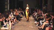 Alejandra Guilmant Topless at a runway
