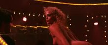 "Elizabeth Berkley keeps the plot moving in ""Showgirls"""