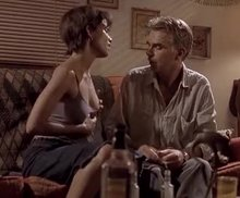 Halle Berry pulling her plot out