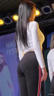 Blah Blah - Seol Hwa ass and panty lines