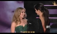 Scarlett Johansson and Sandra Bullock