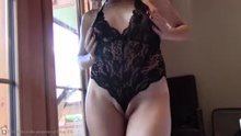 My new lace teddy!