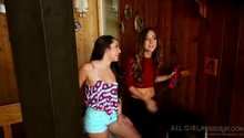 Remy LaCroix and Lola Foxx - All Girl Massage (Mountain Estate)