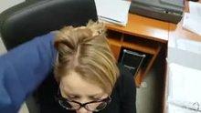 the (blow)job of an office secretary