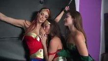 Jayden Cole, Dani Daniels, Melissa Jacobs, Cherie Deville lesbian cosplay