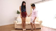 Nanae Matsumoto - A Tall Girl's Porn Debut With A Short Guy