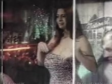 Linsey Dawn McKenzie teases the crowd