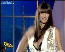Melissa Satta Italian TV oops!