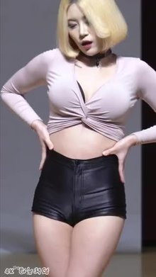 Girl Crush Bomi's pussy hair
