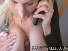 Absolute Classic - Naughty Allie Titfuck and Facial
