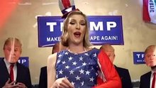 Ella Nova & Donald Trump - Make America gape again