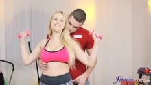 Angel Wicky, Katarina Muti - A good workout some way or another