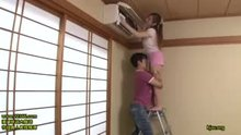 Erika Kitagawa   Temptation of Busty Braless Housewife