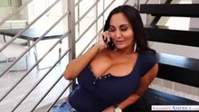 Ava Addams jugs are bigger than her head