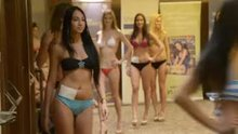 Miss Bikini women walking