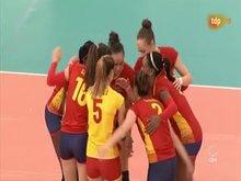 Spanish Volleyball Girls