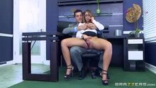 Layla London - Big Tits at Work - The Inside Her