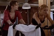 """Drew Barrymore, KaDee Strickland in """"Fever Pitch"""""""