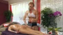 Cougar Club LA Massage scene