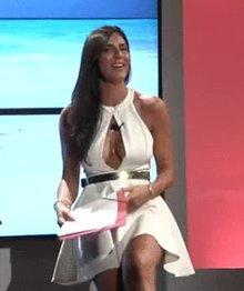 Barbara Francesca Ovieni Italian TV