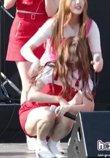 Momoland Daisy in Red