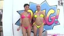 Honey Gold and Aaliyah Hadid