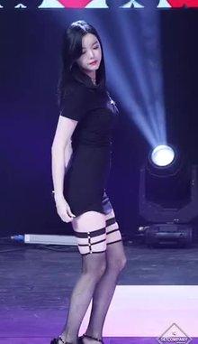 Asian Girl in Tight Dress
