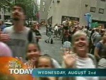 Flashing Live on NBC News