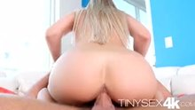 Close up of Kendall Kayden riding a big white dick