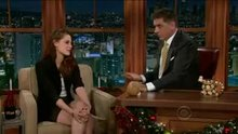 Kristen Stewart, lipbite into awkward pause