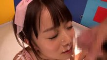 Asuka Hoshino follow-up cumshot