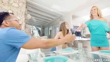 Riley Reid & Cherie Deville | Stepmom Meets and Fucks Daughter's Boyfriend