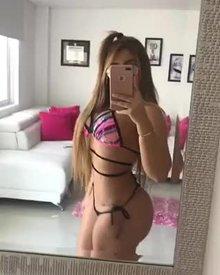 Nikki blonde fake whooty