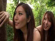 Yui Hatano and Yuna Shiina | Sexy Threesome