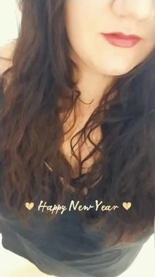 Red lips (f)or New Years!