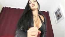 Black Leather Mistress POV Clip