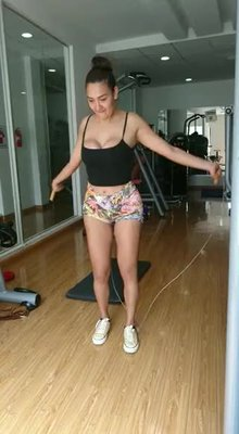 Skipping rope without firmly securing the goods leads to accidents