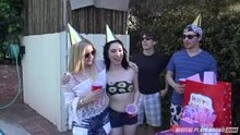 Caught fucking my daughter's friend at her birthday party