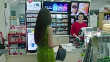 Korean babe banged by store clerk
