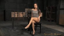 Kalina Ryu - Kalina Ryu's first bondage shoot, brutal fucking, drooling deepthroat by an insatiable sex addict!