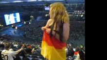 German Woman, From the Top Row
