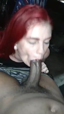 Pretty Redhead Anesthesia Rose Sucking Cock?