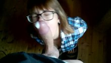 Nerd glasses are for cumming on