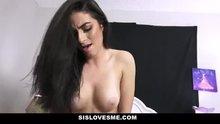SisLovesMe - Hot Stepsis Sucks My Cock